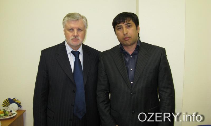 Бек с Сергеем Мироновым
